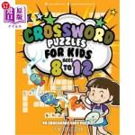 【中商海外直订】Crossword Puzzles for Kids Ages 8 to 12: 90 Crosswo