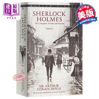 【中商原版】福��摩斯�典合集1 英文原版 Bantam Classics:Sherlock Holmes Volume