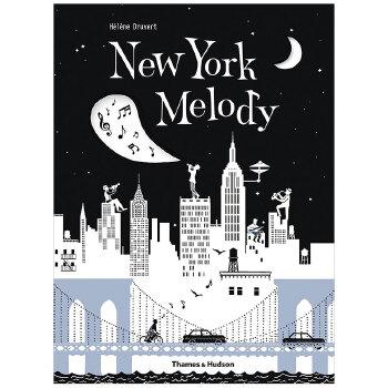 【T&H】Helene Druvert纸雕艺术儿童书 New York Melody 纽约旋律 英文原版 善本图书 汇聚全球出版物,让阅读改变生活,给你无限知识