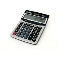 晨光 标朗桌面计算器12位数 金属太阳能计算器ADG98103