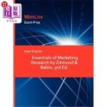 【中商海外直订】Exam Prep for Essentials of Marketing Research by Z