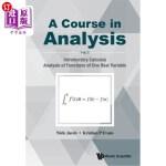 【中商海外直订】A Course in Analysis: Volume I: Introductory Calcul