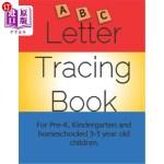 【中商海外直订】Letter Tracing Book for Pre-K, Kindergarten and Hom