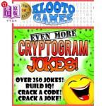 【中商海外直订】KLOOTO Games: EVEN MORE CRYPTOGRAM Jokes!
