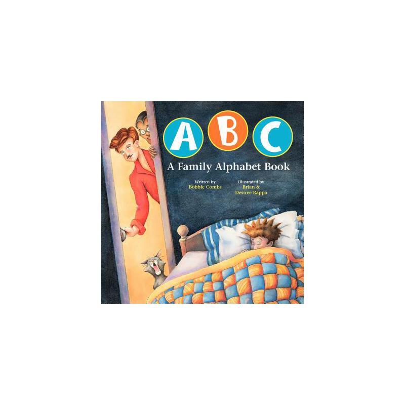 【预订】ABC a Family Alphabet Book 预订商品,需要1-3个月发货,非质量问题不接受退换货。