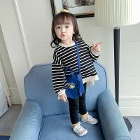 女童卫衣2019春装新款1-2-3岁4儿童宝宝长袖上衣小童洋气打底衫
