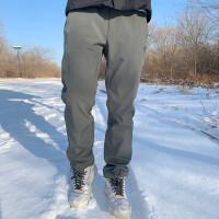 【诺诗兰开学季低至2折】诺诗兰户外新款男士保暖加绒防泼水软壳长裤GF075527