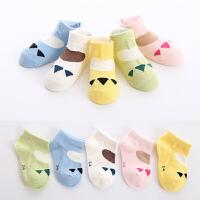 儿童袜子夏季薄款3-5-7-9岁男女宝宝网眼松口船袜短袜浅口袜