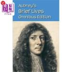 【中商海外直订】Aubrey's Brief Lives: Omnibus Edition