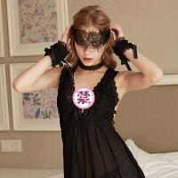 SM另类玩具情趣性用品角色扮演夫妻情趣内衣性感蕾丝眼罩手铐套装情趣用品 均码