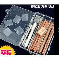 素描铅笔套装8件套马利马可中华美术铅笔盒笔袋绘画铅笔素描工具