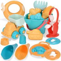 宝宝洗澡玩具花洒喷水男孩女孩戏水玩沙子转转乐儿童软胶沙滩玩具