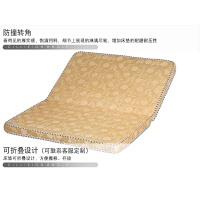 床垫棕垫经济型偏硬可折叠 椰棕床垫棕垫棕榈硬床垫宿舍单人定做1.5m1.8米三折叠榻榻米地铺