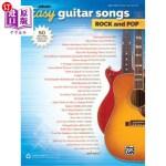 【中商海外直订】Alfred's Easy Guitar Songs -- Rock & Pop: 50 Hits f