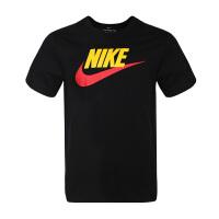NIKE耐克 男装 运动休闲透气圆领短袖T恤 AR5005-013