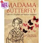【中商海外直订】Madama Butterfly (English and Italian Edition)