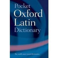 英文原版 牛津袖珍拉丁词典 Pocket Oxford Latin Dictionary