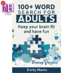【中商海外直订】100+ Word Search for Adults: Keep your Brain Fit an