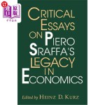 【中商海外直订】Critical Essays on Piero Sraffa's Legacy in Economi