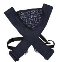 婴儿背带前抱式初生新生儿后背式背巾简易四爪多功能背带 宝蓝色
