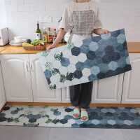 厨房地垫防滑防油家用可擦免洗厨房地毯长条pvc地垫耐脏可裁剪