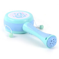 儿童婴幼儿床头玩具 手摇铃拨浪鼓 可啃咬0-1岁 早教灯光音乐0-6个月 标配