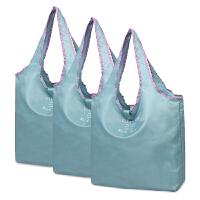 买菜包 定制logo可折叠购物袋买菜包大容量超市环保手提袋便携尼龙布结实 纵向大号