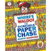 Waldo The Incredible Paper Chase 威利在哪里?不可思议的探索ISBN978076364