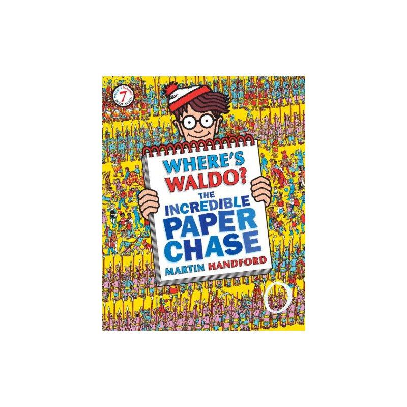 Waldo The Incredible Paper Chase 威利在哪里?不可思议的探索ISBN9780763647254