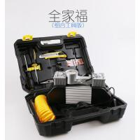 车载充气泵双缸电动轿车便携式汽车轮胎多功能车用打气泵