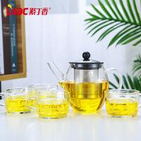 耐热玻璃茶壶养生壶不锈钢过滤泡茶壶煮茶壶茶盘套装