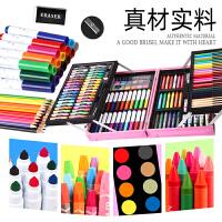 儿童水彩笔可水洗彩笔套装专业绘画礼盒幼儿园24彩色笔手绘小学生软头安全无毒画画笔36色颜色笔水彩画笔美术