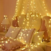 女生房间装饰品可爱LED小彩灯闪灯串灯满天星少女房间装饰品灯饰网红浪漫布置星星灯p
