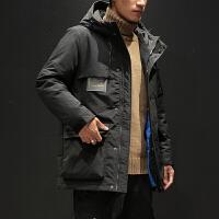 冬季潮牌工装棉衣男士大码韩版宽松棉服潮流加厚冬天棉袄外套男装