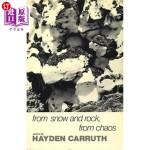 【中商海外直订】From Snow and Rock, from Chaos: Poems, 1965-1972