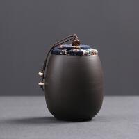 茶�~罐茶罐小�普洱�b茶�~盒便�y迷你旅行存�γ芊夤藜矣�