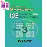 【中商海外直订】The Way Of Samurai 3: 105 Samurai All New Sudoku Pu