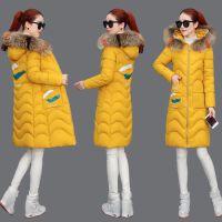 棉衣中长款韩版2019加厚女修身百搭冬季外套女装