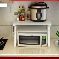 厨房收纳架微波炉置物架2层调料架烤箱架落地置物架多功能储物架