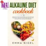 【中商海外直订】Alkaline Diet Cookbook: Complete guide for beginner
