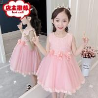 女童连衣裙夏装2019新款童装裙子小女孩韩版超洋气儿童公主裙夏季销售