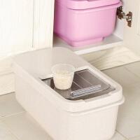 10kg防潮防虫米桶日式大米密封箱家用米缸储米箱20斤装储物箱