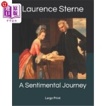 【中商海外直订】A Sentimental Journey: Large Print
