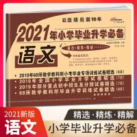 2021新版 68所名校 2020年小学毕业升学必备语文试卷 卷子全套 小学生六年级上册下册小升初模拟测试卷真题卷总复习