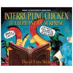 Interrupting Chicken 打断别人说话的小鸡与给人惊喜的小象 英文儿童绘本