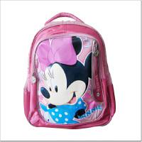 当当自营富乐梦 Disney迪士尼 小学生书包 米妮儿童书包 桃色 CL-M0371H