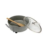 现代工匠 XDFG-D06 麦饭石电火锅 涮 煎 炒 焖 炖 煮 家用电锅 6L大容量