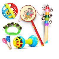 新生儿玩具摇摇铃 安抚 新生婴儿宝宝玩具0-1岁乐器传统拨浪鼓玩具手摇鼓婴儿摇铃玩具