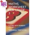 【中商海外直订】Maths Worksheet for Grade 3: Playing with Numbers V