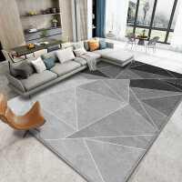 北欧现代简约地毯客厅沙发茶几地垫床边灰色卧室房间地毯全铺家用